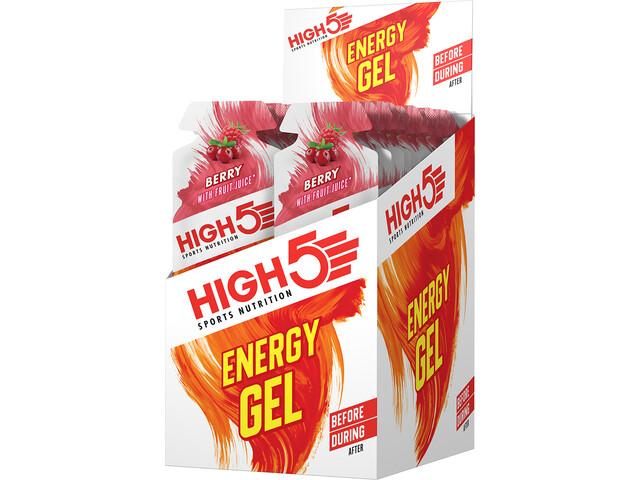 High5 Energy Gel Box 20x40g, Berry
